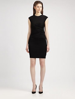 T by Alexander Wang - Pique Twist Dress