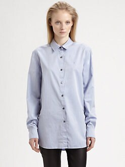 T by Alexander Wang - Long-Sleeve Poplin Shirt