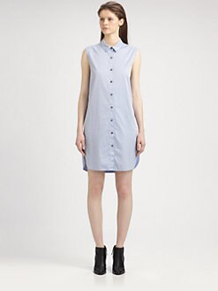 T by Alexander Wang - Poplin Shirtdress