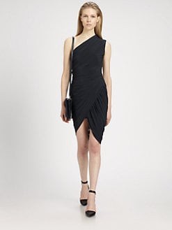 Alexander Wang - One-Shoulder Jersey Dress
