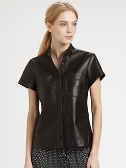 Rag & Bone - Adele Leather Shirt