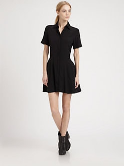 Rag & Bone - Stretch Silk Dulce Dress