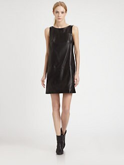 Rag & Bone - Corina Leather Shift Dress