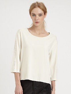 Rag & Bone - Stretch Silk Top