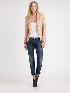 Rag & Bone - Sliver Tweed Blazer