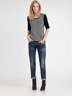 Rag & Bone - Gabi Jacquard Top