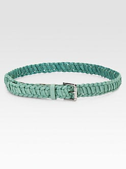 Rag & Bone - Simone Braided Leather Belt