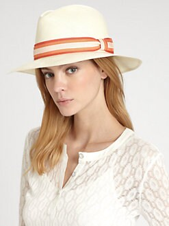 Rag & Bone - Bristol Straw Fedora