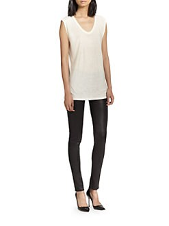 T by Alexander Wang - Classic Slub Muscle Tee
