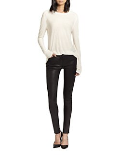 T by Alexander Wang - Classic Slub Long-Sleeve Tee