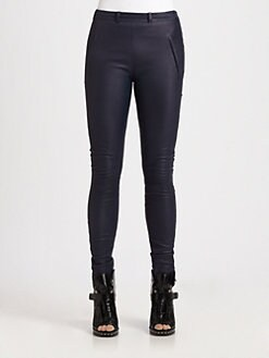 Acne - Best High-Waist Leather Pants