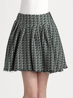 girl. by Band of Outsiders - Tweed Skirt