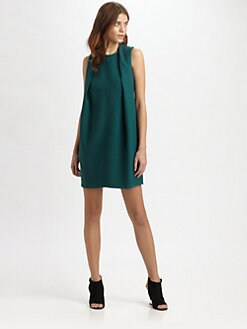 Carven - Fold-Over Sheath Dress