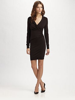 Carven - Silk and Cashmere Sweaterdress