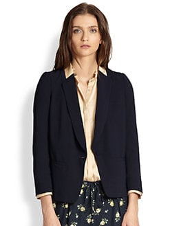 girl. by Band of Outsiders - Silk Blazer