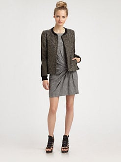Thakoon Addition - Combo Moto Jacket