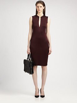 T by Alexander Wang - Pique Knit Dress