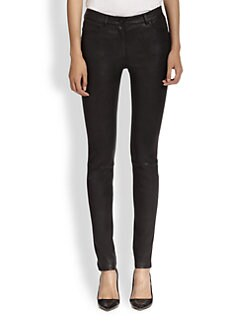 T by Alexander Wang - Stretch-Leather Pants