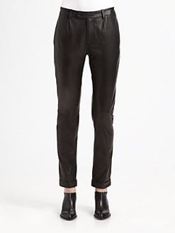 T by Alexander Wang - Lightweight Leather Pants
