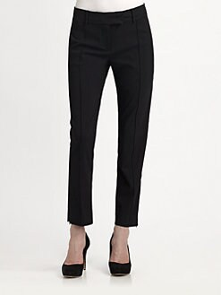 L'AGENCE - Cropped Cigarette Pants