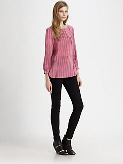 Kelly Wearstler - Palermo Striped Silk Top