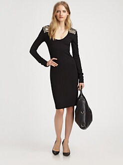 McQ Alexander McQueen - Scoop Neck Dress