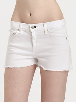 rag & bone/JEAN - Cut-Off Denim Shorts
