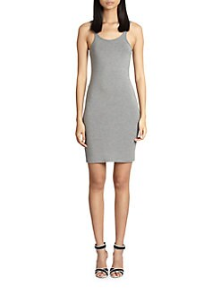 T by Alexander Wang - Stretch Jersey Tank Dress