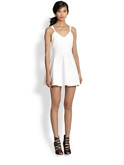 Elizabeth and James - Lockley Fit-&-Flare Criss-Cross Back Dress