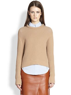 3.1 Phillip Lim - Rolled-Neck Textured Wool-Blend Sweater