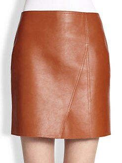 3.1 Phillip Lim - Paneled Leather Skirt