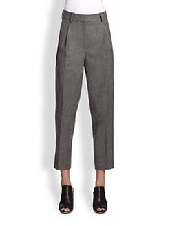 3.1 Phillip Lim - Raw-Edge Stretch-Wool Pants