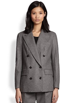 3.1 Phillip Lim - Raw-Edge Stretch-Wool Blazer