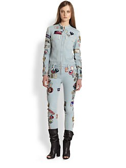 3.1 Phillip Lim - Patched Denim Jumpsuit