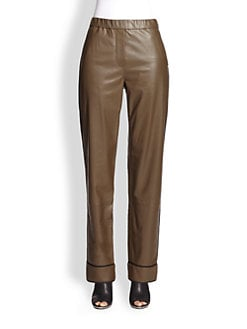 3.1 Phillip Lim - Leather Pajama Pants