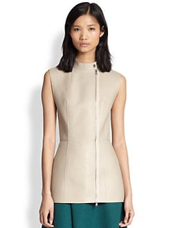 3.1 Phillip Lim - Leather Moto Tunic