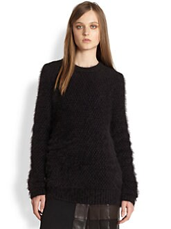 3.1 Phillip Lim - Textured Wool & Angora-Blend Sweater