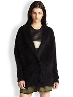3.1 Phillip Lim - Stretch-Wool & Angora Cardigan