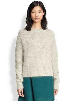 3.1 Phillip Lim - Stretch-Wool & Angora Sweater