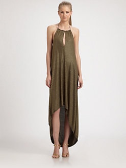 Haute Hippie - Hi-Lo Halter Dress