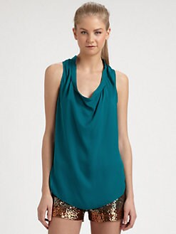 Haute Hippie - Sleeveless Silk Blouse
