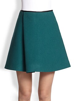 3.1 Phillip Lim - Sculpted Flare Combo Skirt