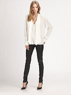 Elizabeth and James - Daphne Silk Blouse