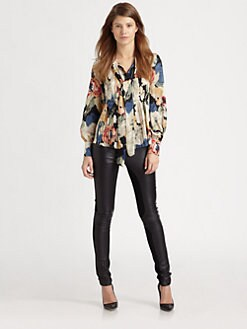 Elizabeth and James - Celeste Silk Blouse