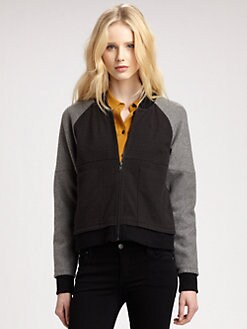 Cut 25 by Yigal Azrouel - Wool-Rich Combo Jacket