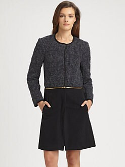 Gryphon - Quilted Sweater Coat