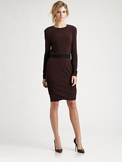 By Malene Birger - Ruched Jersey Sweaterdress