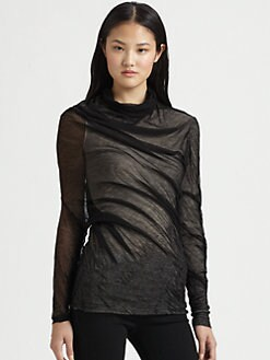 Alexander Wang - Asymmetrical Shrink Wrap Top
