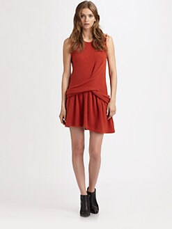 Thakoon Addition - Twisted-Hip Dress