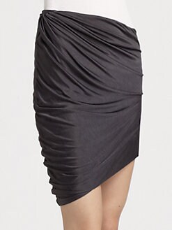 Surface To Air - Draped Jersey Skirt